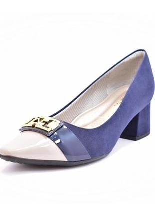 Sapato scarpin piccadilly navy 40