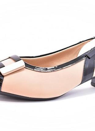 Sapato chanel piccadilly nude 40