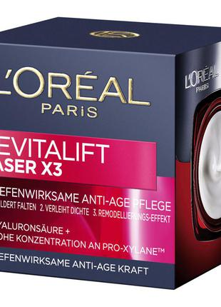 Creme anti-idade l'oréal paris revitalift laser x3 diurno 50ml