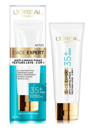 Creme anti-idade idade expert 35+ l'oréal paris 40ml