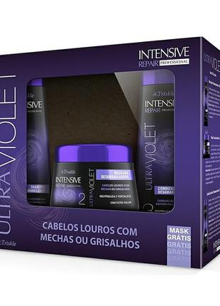Kit ultra violet intensive repair triskle