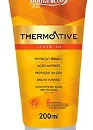 Leave in termoativo creme sem enxague bothanico hair 200ml