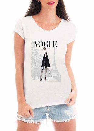 Camiseta feminina - vogue