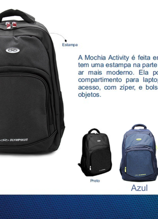 Mochila olympikus activity