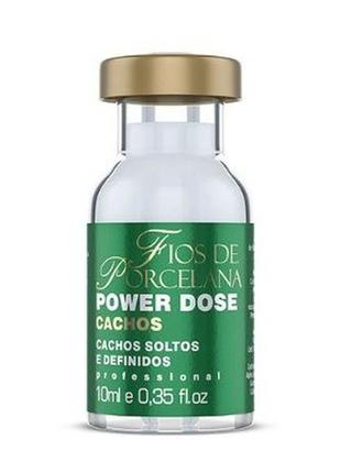 Power dose de cachos fios de porcelana 10ml