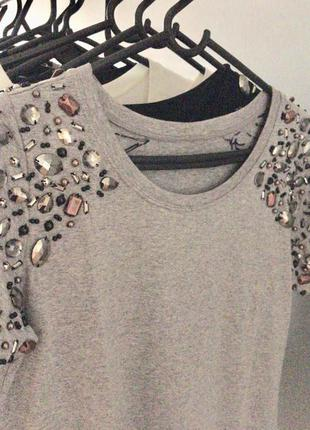 Camiseta grey metal