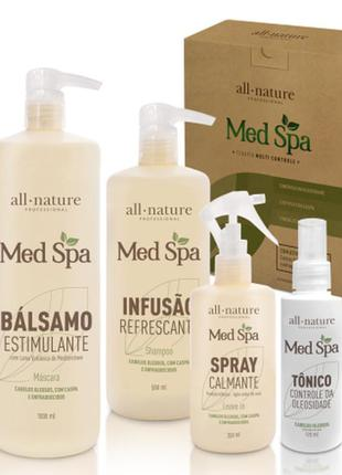 Kit lama vulcânica med-spa all-nature spray