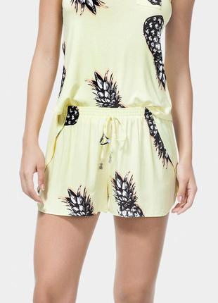 Short de praia lez a lez pineapple