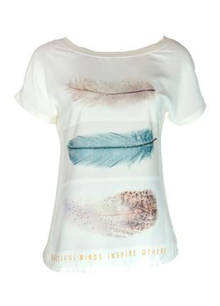 Blusa infinity fashion t-shirt off white