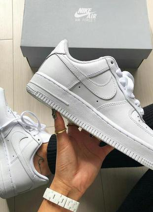 Tenis feminino nike air force  branco (replica)